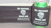 Strap One On and All Natural Hand Job Koozies